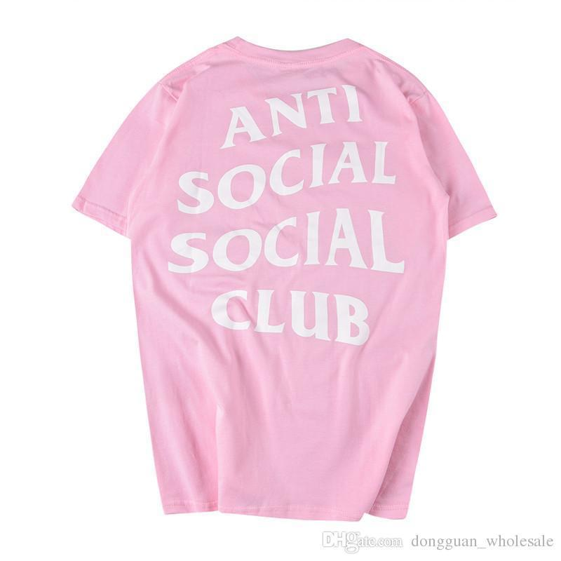 7bf7f1afb Compre ANTI SOCIAL SOCIAL CLUB T Shirt Homens Mulheres Paranóide Invicto  Mastermind Esqueleto Japão ASSC T Shirt T Shirt De Top333333, $2.12 |  Pt.Dhgate.