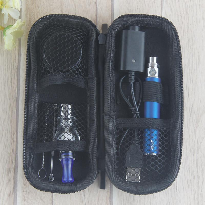 2017 Wholesale Prices ego passthrough glass dome vaporizer Dab vape pen Free Glass Jar ego-T battery e cigarette device smoking starter kits