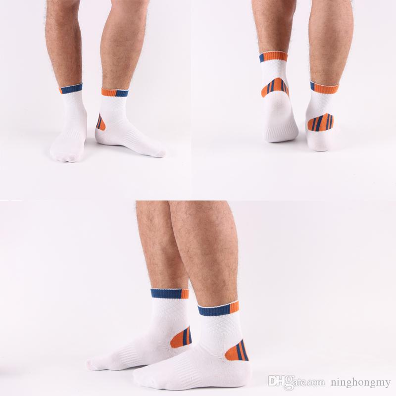2018 Hot Sale cotton Fashion New Solid Men's Socks Good Quality Casual Summer Breathable Short Sock For Men Free DHL