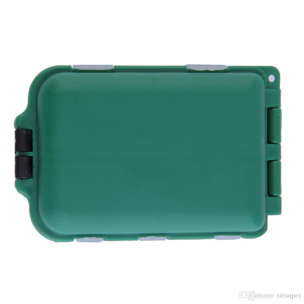 HS-003 Fishing Tackle Boxes Fishing Accessories Case Fish Lure Bait Hooks Tackle Tool for Storing Swivels, Hooks, Lures