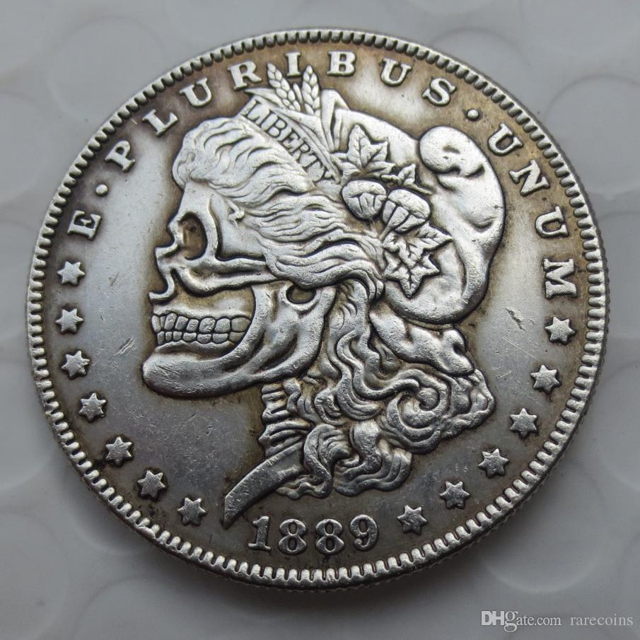 Us Head To Head Two Face 1893 1922 Morgan Dollar And Peace