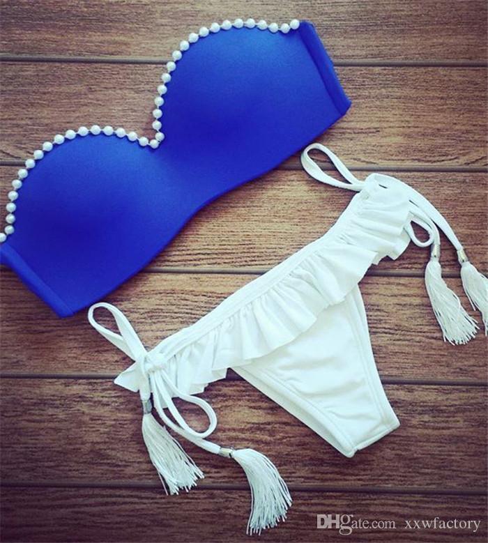 Women Bikini Set 2017 Newest Padded Bikinis Sexy Push Up Swimwear Female Swimsuit Bathing Suit Brazilian Maillot De Bain Biquini