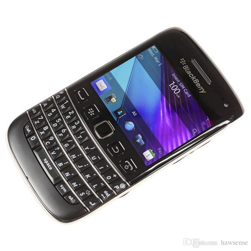 Refurbished Original Blackberry Bold 9790 Unlocked 3G Mobile Phone 2.45 inch 8GB ROM 5MP WIFI Touch Screen + QWERTY Keyboard Free DHL