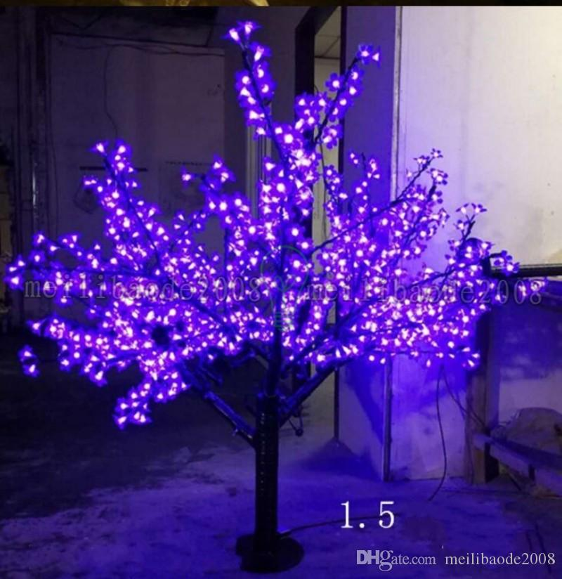 2017 новый светодиодный свет Рождества вишни дерево свет светодиодов 6 футов/1.5 м высота 110 В/220 В водонепроницаемый наружного использования груза падения MYY
