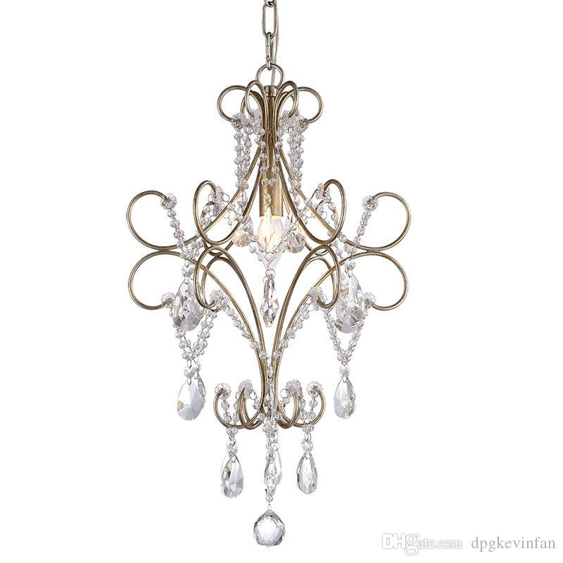 Modern Chandeliers Mini Small Chandelier Lighting Crystal Light For Bedroom Luxury Gold E14 Led Lamps Chihuly 5