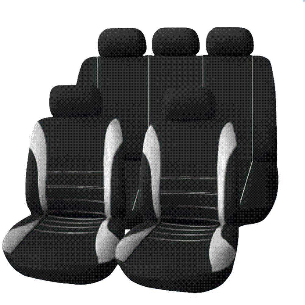 Set Universal Car Seat Cover Full Seat Covers Mesh Sponge For