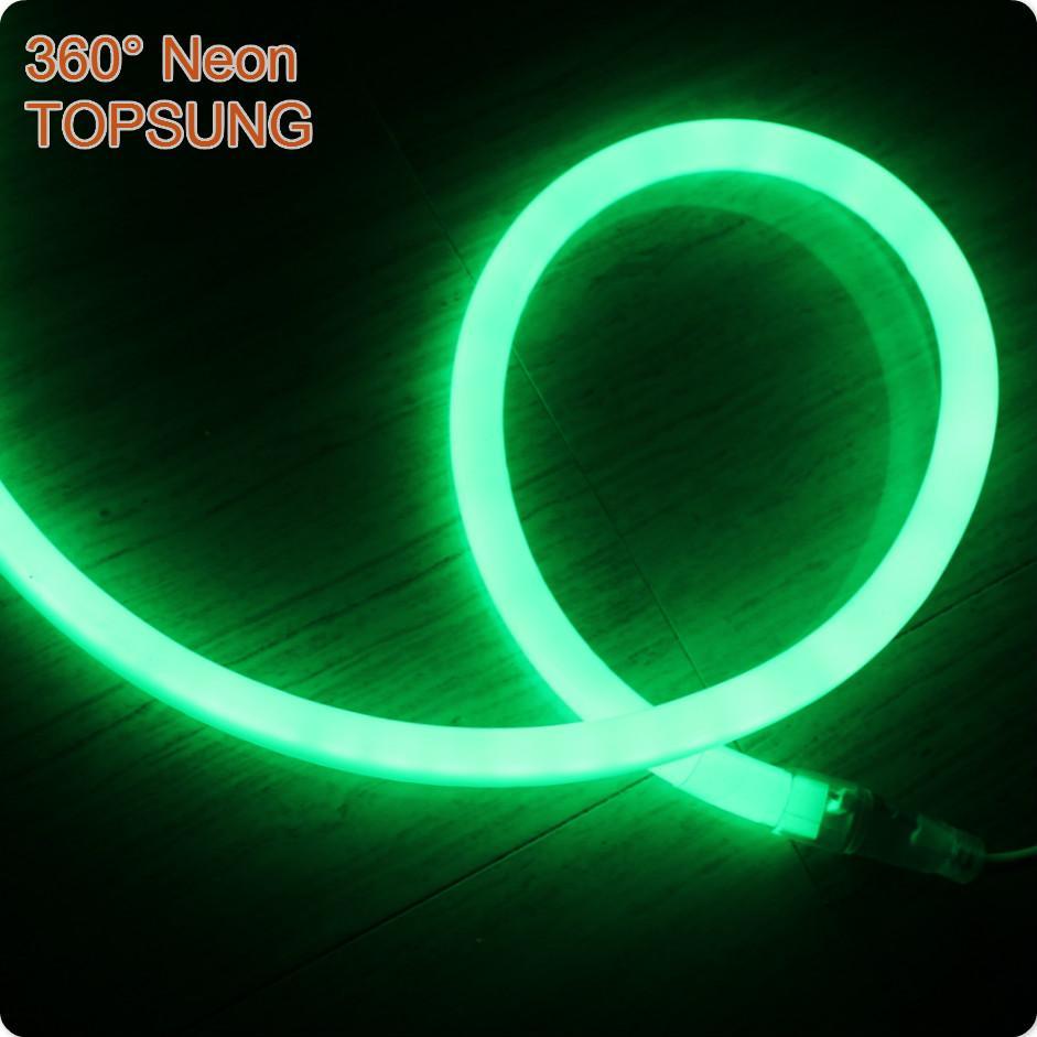 50m spool 12v waterproof uv led strip light neon tube 16mm mini 2835 SMD ribbon neon-flex rope multi color for outdoor decoration