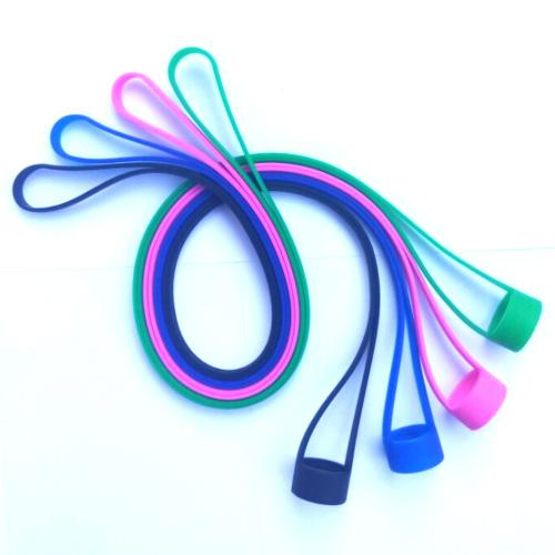 Silicone Lanyard with Vape Band O Rings Silicon Necklace vape band for mod Colorful for Ego One iStick Pico iJust 2 Mod