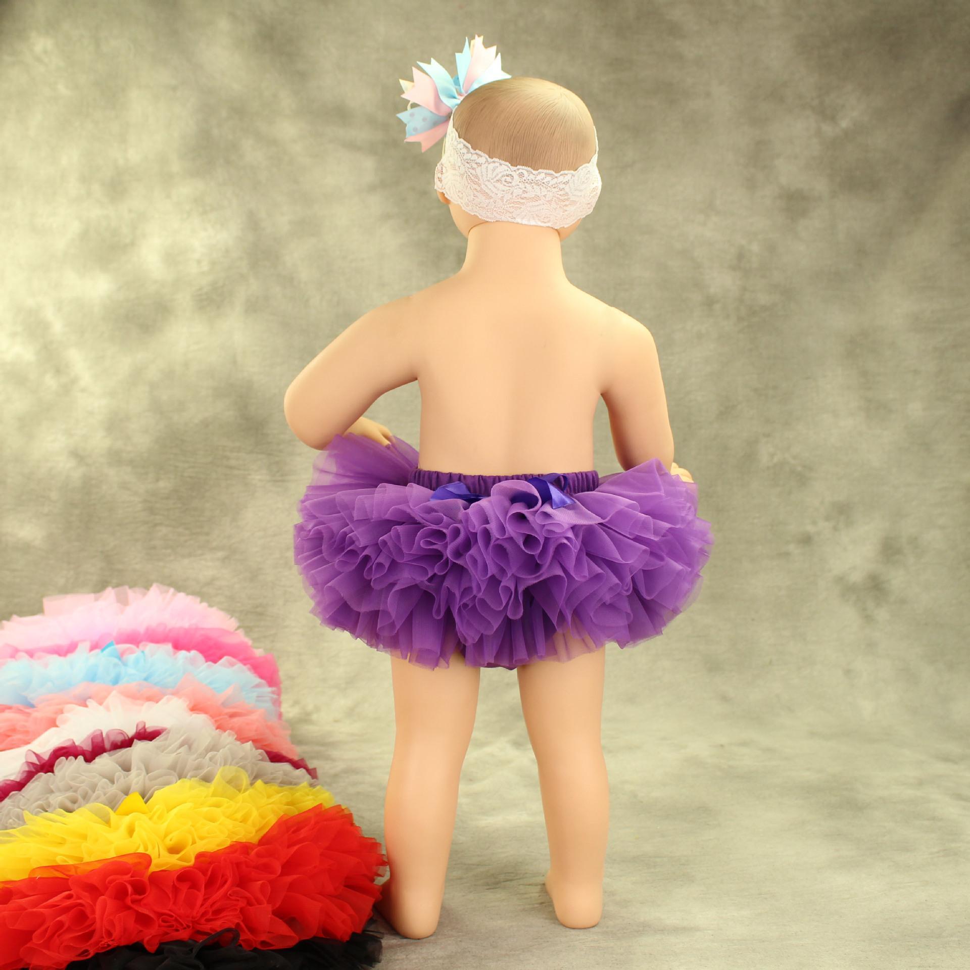 6f721a6eeaa 2019 Baby Girl Tutu Skirt Photography Newborn Infants Soft Tulle Tutu Dress  Cute Multi Layers Studio Prop 2017 From Allison87099