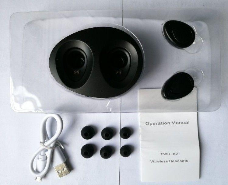 TWS Drahtlose Ohrhörer Mini Twins Bluetooth Sport Kopfhörer Noise Cancelling Stereo Kopfhörer Mit Mikrofon Für Samsung Apple iPhone 7 Plus Headset
