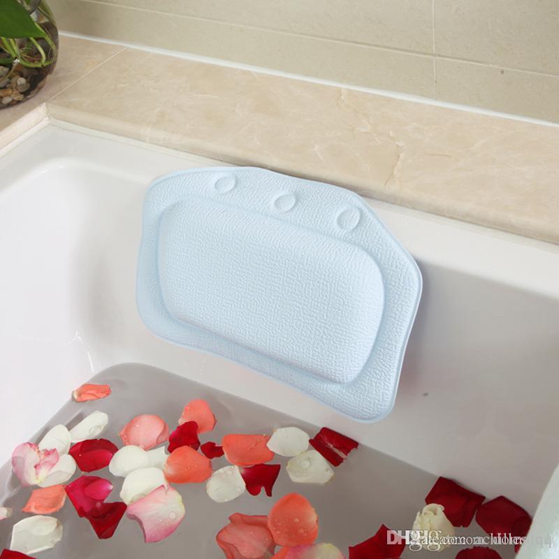 Wholesale Bathroom Supplies Waterproof Bathtub Spa Bath Pillow With ...