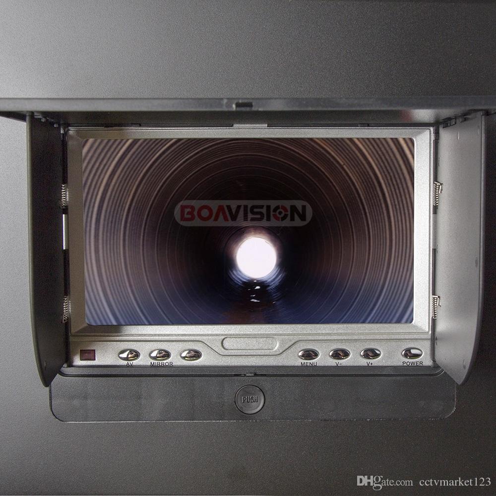 20 متر كابل للماء القناة أنابيب الصرف الصحي التفتيش الكاميرا استنزاف النظام الصناعي الفيديو ثعبان كاميرا المنظار الأبيض أضواء ليلة الرؤية