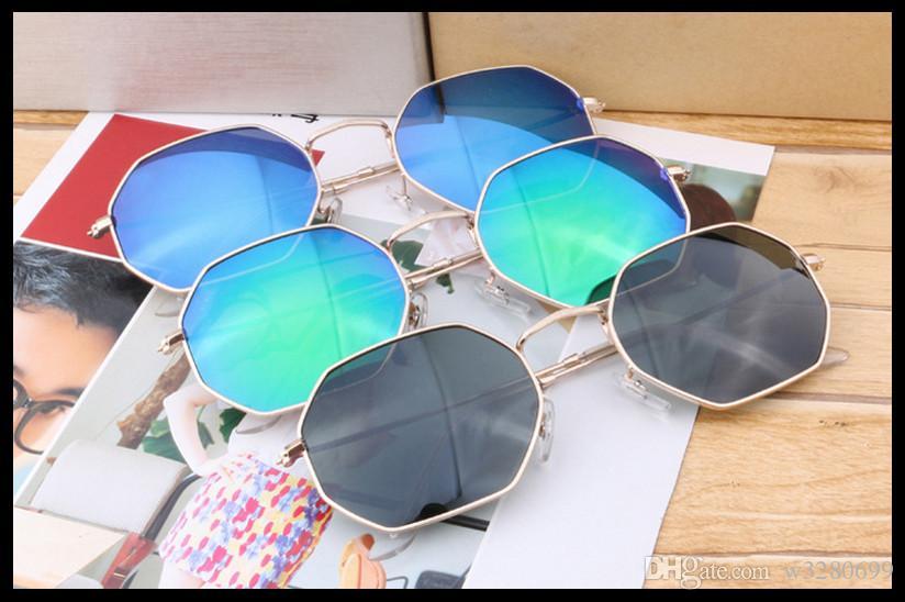 2017 Avrupa ve Amerikan vintage güneş gözlüğü moda gözlük anti-parlak film trendi çok taraflı elmas sıcak satış