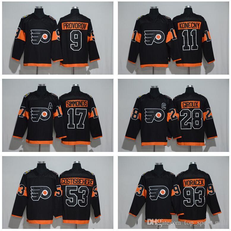 723a1d007 2019 2017 Stadium Series 17 Wayne Simmonds Jersey Men Philadelphia Flyers  11 Travis Konecny 9 Ivan Provorov Claude Giroux 53 Shayne Gostisbehere From  ...