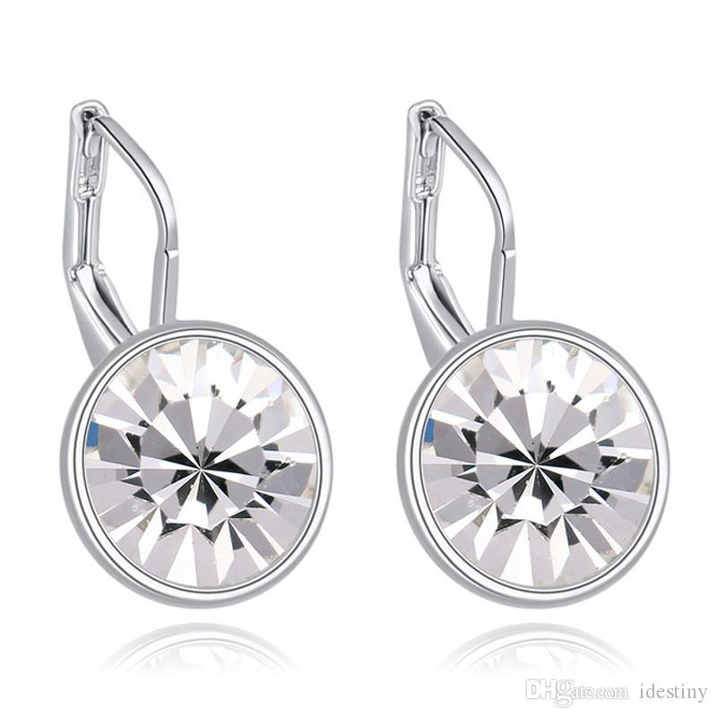 8a6f57081 2019 Famous Brands Jewelry Small Mini Bella Piercing Earrings Made With  Austrian Crystals From Swarovski For Women Gift 2017 From Idestiny, $4.02 |  DHgate.