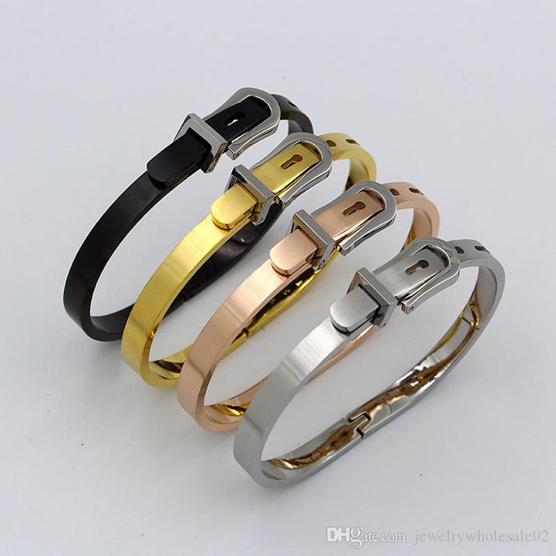 d2badb97c63 Stainless Steel Bracelet   Bangles Gold Silver Color Africa Jewelry ...