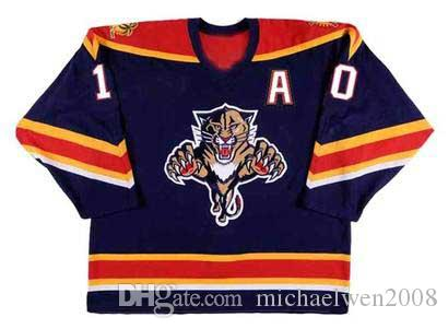 # 10 # 96 Pavel Bure Florida Panthers Trikot 1999 New York Rangers 2003 Vancouver Canuck 1994 1995 1996 Benutzerdefinierte Hockey Trikots