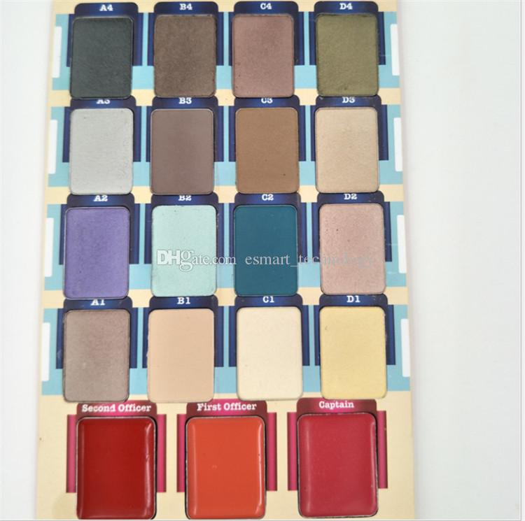 New 19 Shades Meet Matter Nude Highlighter Makeup Eyeshadow Blush Face Pressed Powder Palette