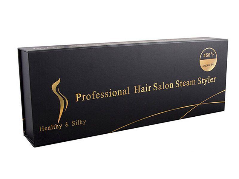 Oryginalne Kangroad Prostownica do włosów Profesjonalne Włosy Salon Steam Styler Tourmaline Ceramiczne płaskie żelazki z CE Rosh DHL Shipping