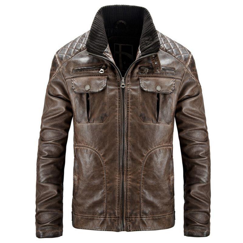 En Veste Jaqueta Acheter Moto De Cuir Vestes Hommes SHwxRFE