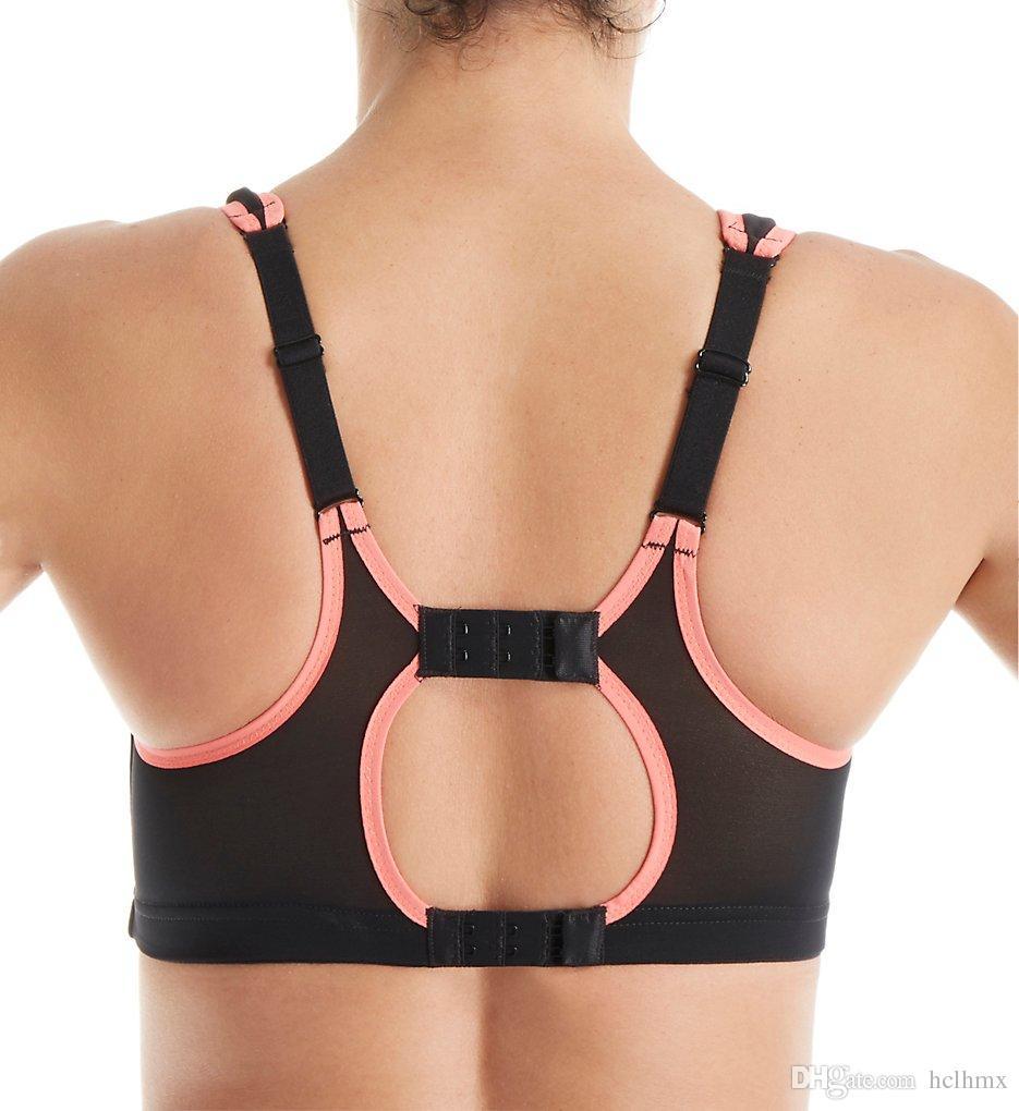 Ücretsiz Nakliye Yüksek Etki Yoga Bras Amortisör Aktif Spor Bras Max Destek Kadın Spor Bra