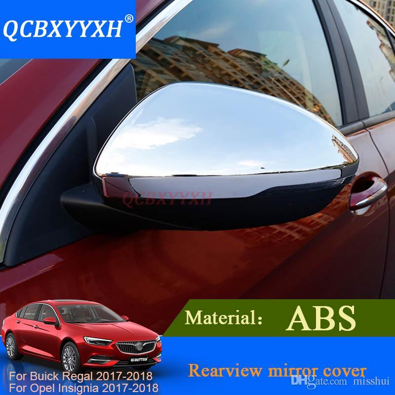 QCBXYYXH Für Buick Regal Opel Insignia 2017 2018 Auto Rückspiegel Abdeckung Rahmen Aufkleber Pailletten Exterior Dekoration Auto styling