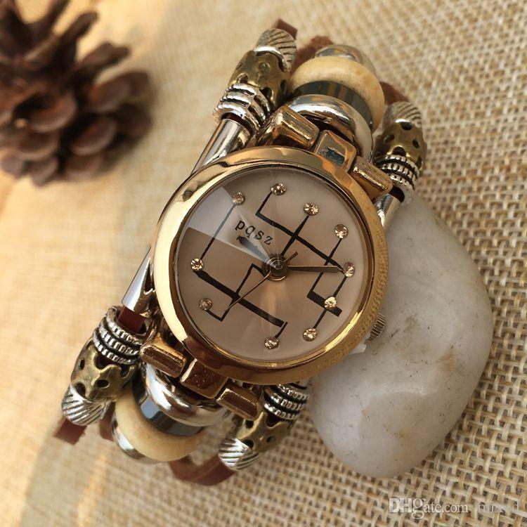 PQSZ P-003 мужские часы браслет Браслет мода мужчины и женщины в Европе и Соединенных Штатах и внешней торговли Оптовая кварц