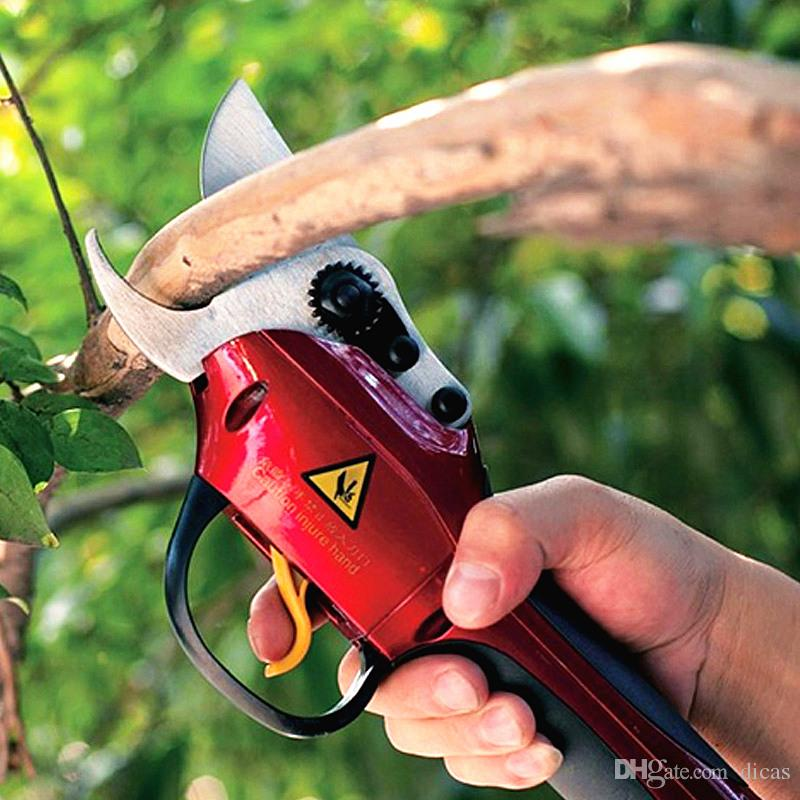 2018 33v cordless scissors electric pruning shears garden for Electric garden scissors