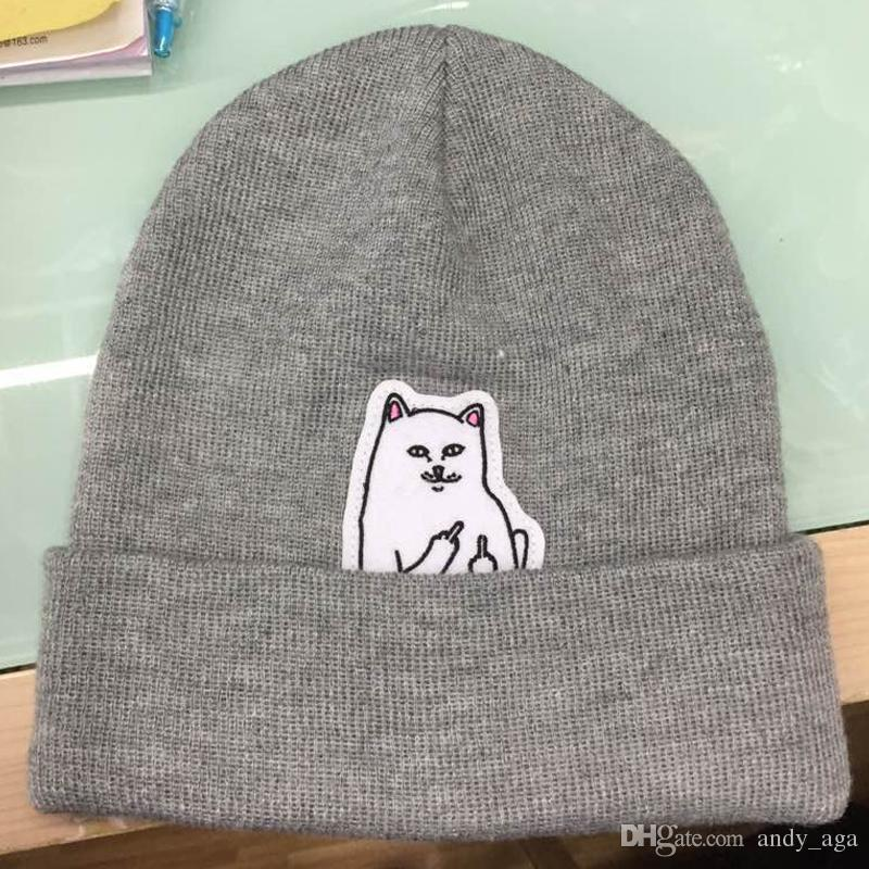 NEW Autumn Winter Spring Beanie New Style Cat Wool Knit Hat Hip Hop Hedging  Men Women Beanies Beanies Knitted Hats Online with  17.51 Piece on  Andy aga s ... edec0308b093