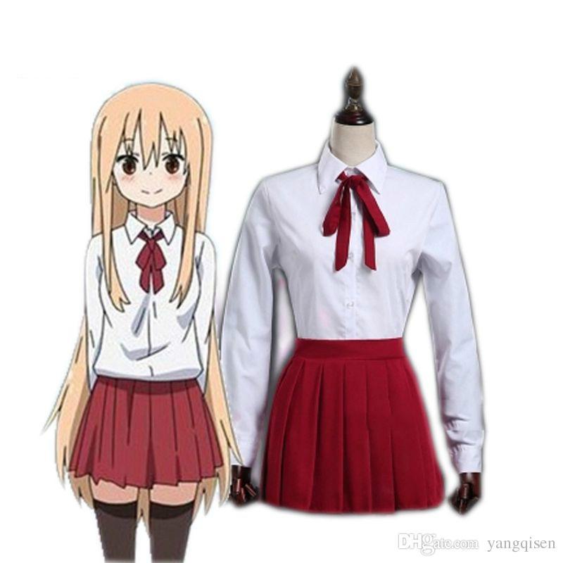 Compre Umaru Cosplay Disfraces Japón Y Corea Del Sur Uniforme Escolar Anime  Japonés Himouto! Ropa Umaru Chan A  23.77 Del Yangqisen  6e100ea28ffc