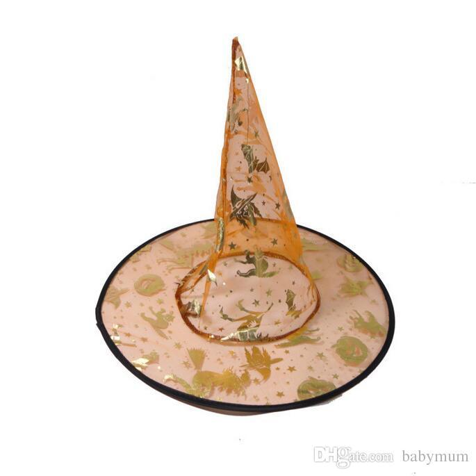 Costumes Festival Sorcière drôle de chapeau Assistant Coiffe pour Halloween et Fête de Pâques décoration enfants fille garçon props costume chapeaux