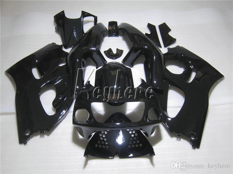 Kit carénage en plastique de haute qualité pour Suzuki GSXR600 96 97 98 99 carénage noir set GSXR750 1996-1999 OI15