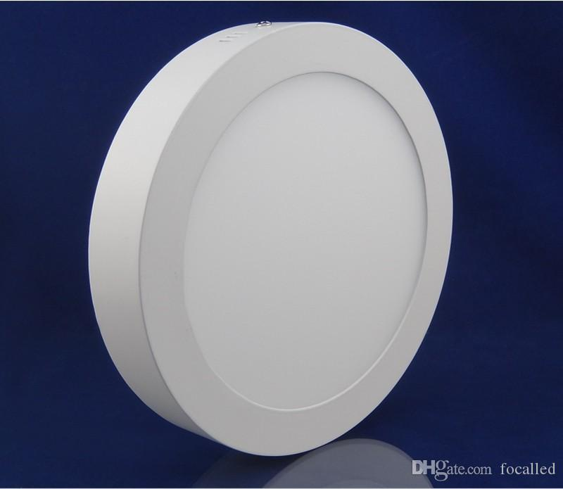Ultra Thin 9W/15W/21W Surface Mounted Led Panel Light led Downlight lighting Warm /Cold White AC 85-265V + Driver Free DHL