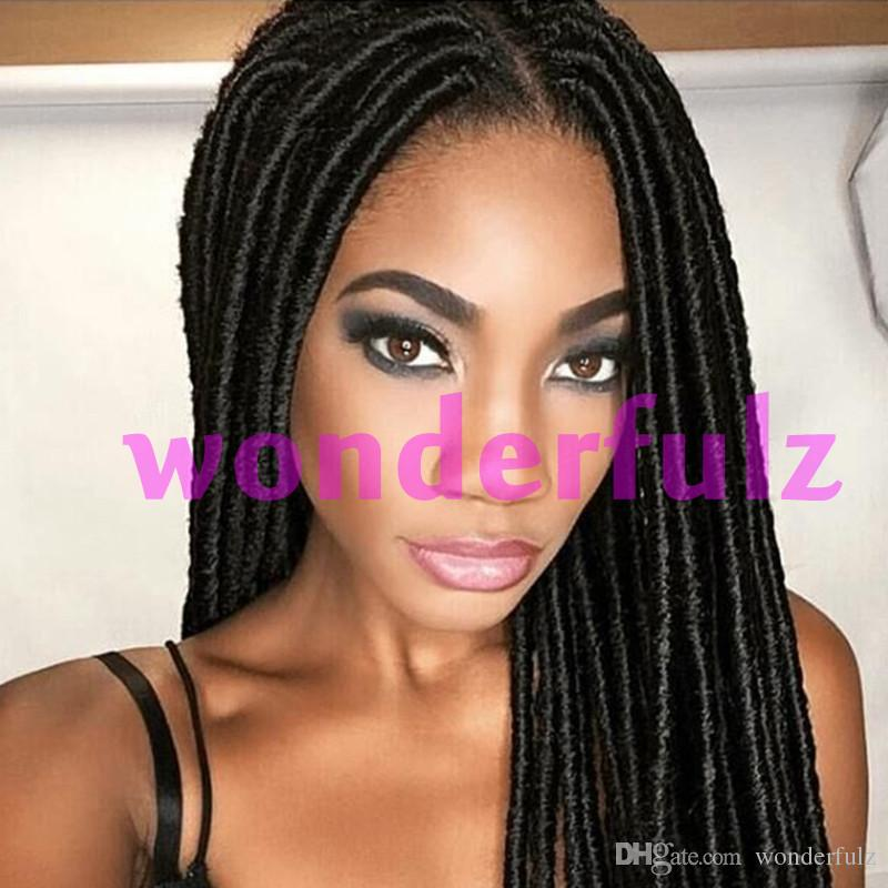New Arrival 18 Inch Dreadlock Hair Extensions Synthetic Faux Locs