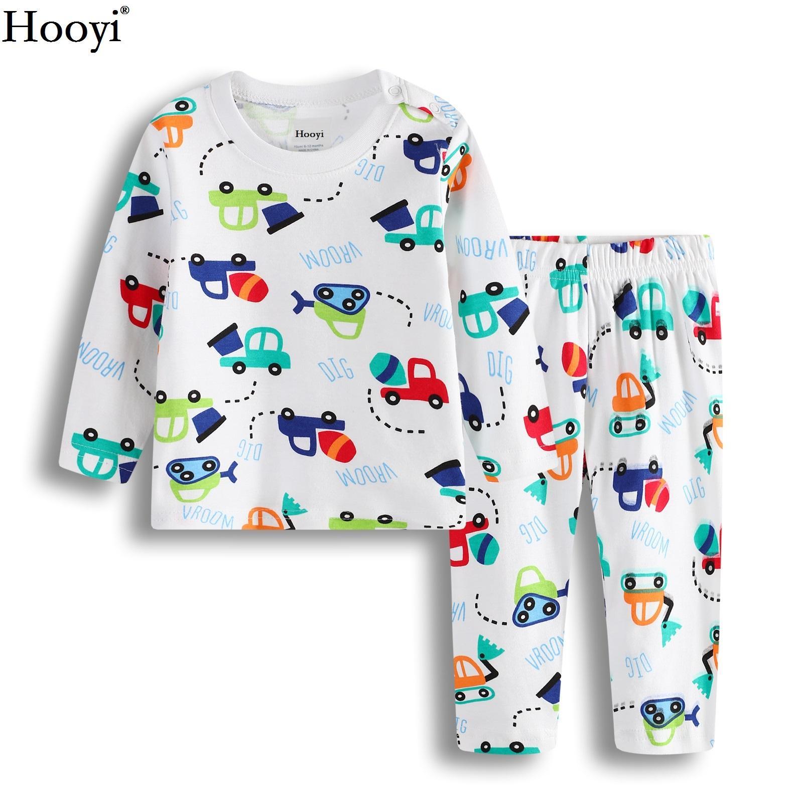 Hooyi Baby Boys Clothes Suit 100 Cotton Boys Pajamas Newborn