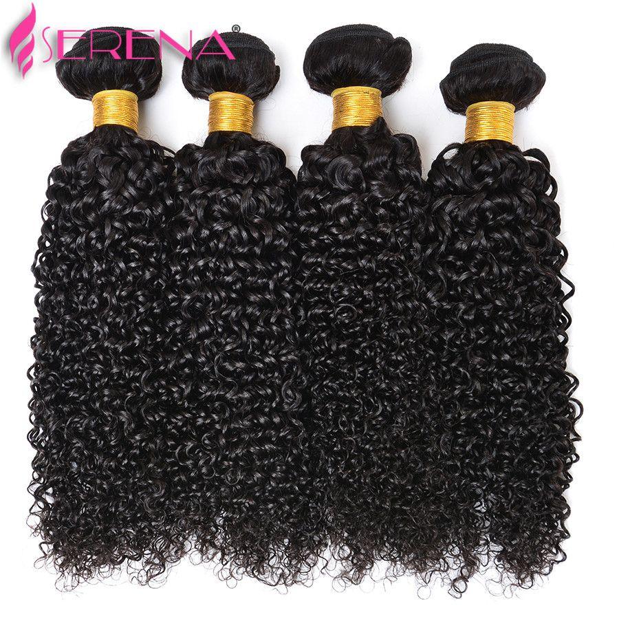 8а Малайзии вьющиеся волосы 4 пучки с уха до уха кружева фронтальная закрытие Малайзии девственные волосы с закрытием 100% человеческих волос