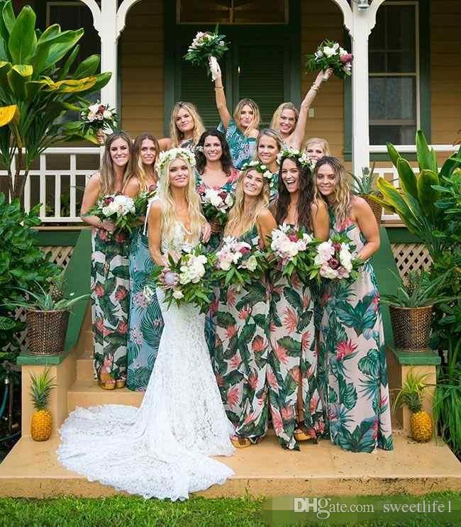 2019 nuevo verano sexy bohemio vestidos de novia profundo escote en V Sheer encaje sin respaldo vestidos de novia Vestidos De Noiva