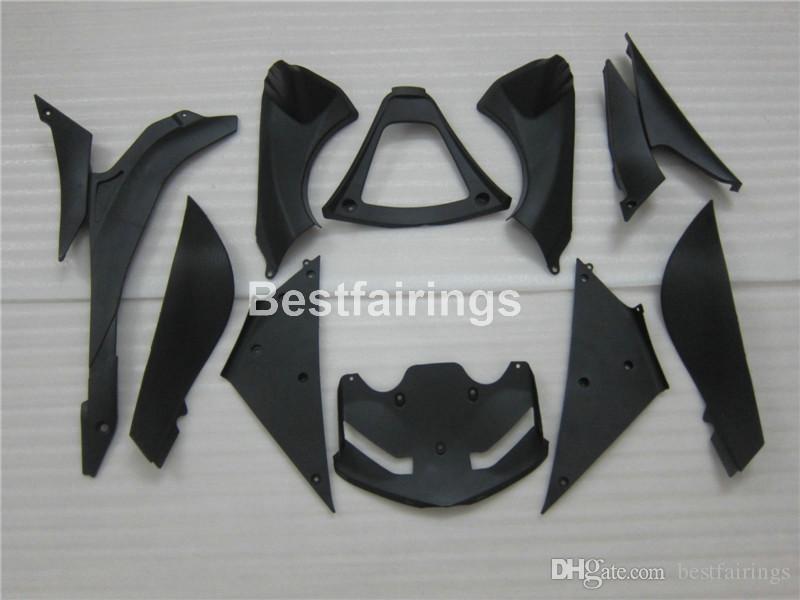 Heißer Verkauf Verkleidung Kit für Kawasaki Ninja ZX6R 2007 2008 grün schwarz Karosserie Verkleidungen gesetzt ZX6R 07 08 MA22