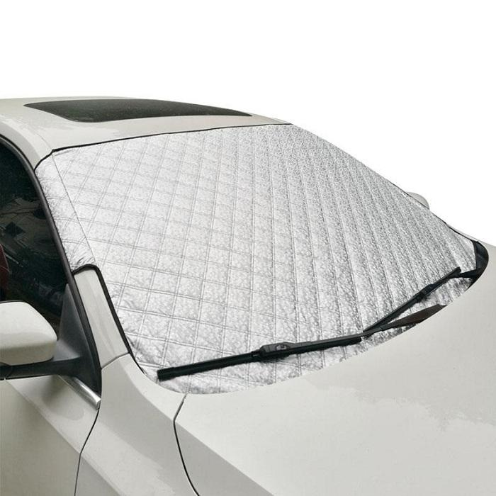 Slivery Car Window Cover Sunshade Snow Covers Reflective