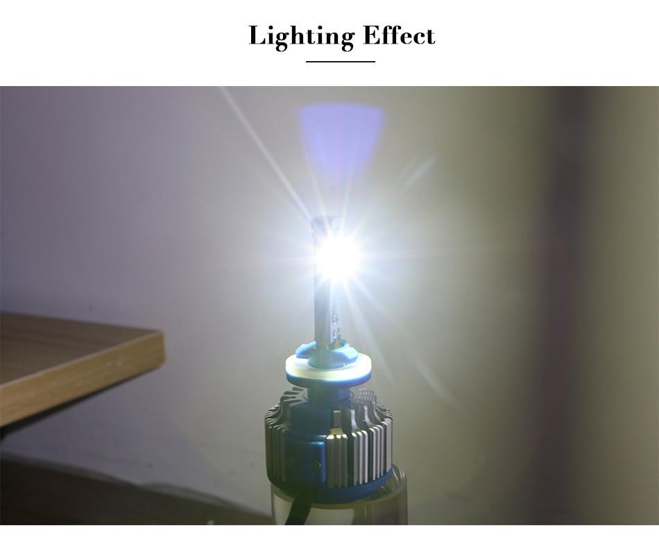 LED Headlight Conversion Kit H7 35W 3500LM Headlamp Replace HID Xenon Kit Auto Bulb Lamp Light Free shopping