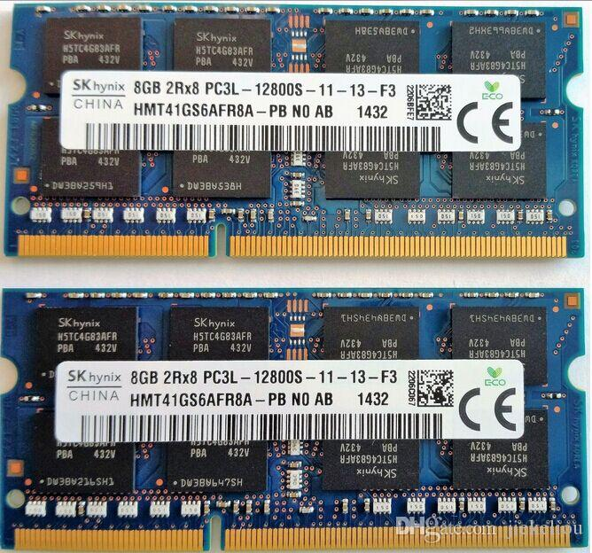 8GB DDR3 1600MHz RAM 4GB 2Rx8 PC3-12800MHz SO-DIMM Notebook Memory for  Thinkpad E540 E531 E431 L430 L440 S3 S5 E545 E520 E530 E450 X200 X220