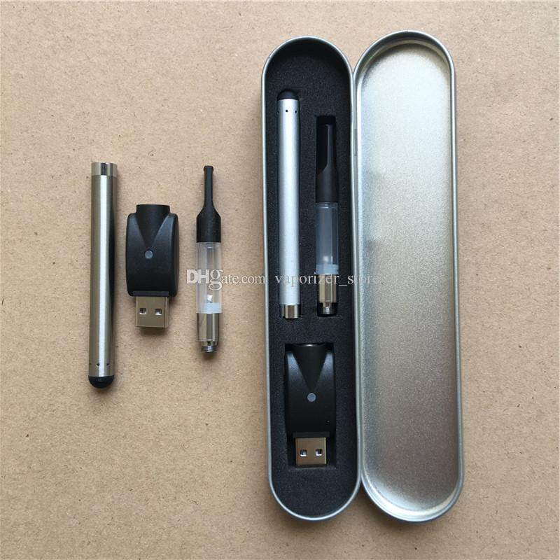Бесплатная доставка ce3 vape комплекты оптом vape O.pen 1.0 мл тонкие 510 e сигаретные стартовые наборы