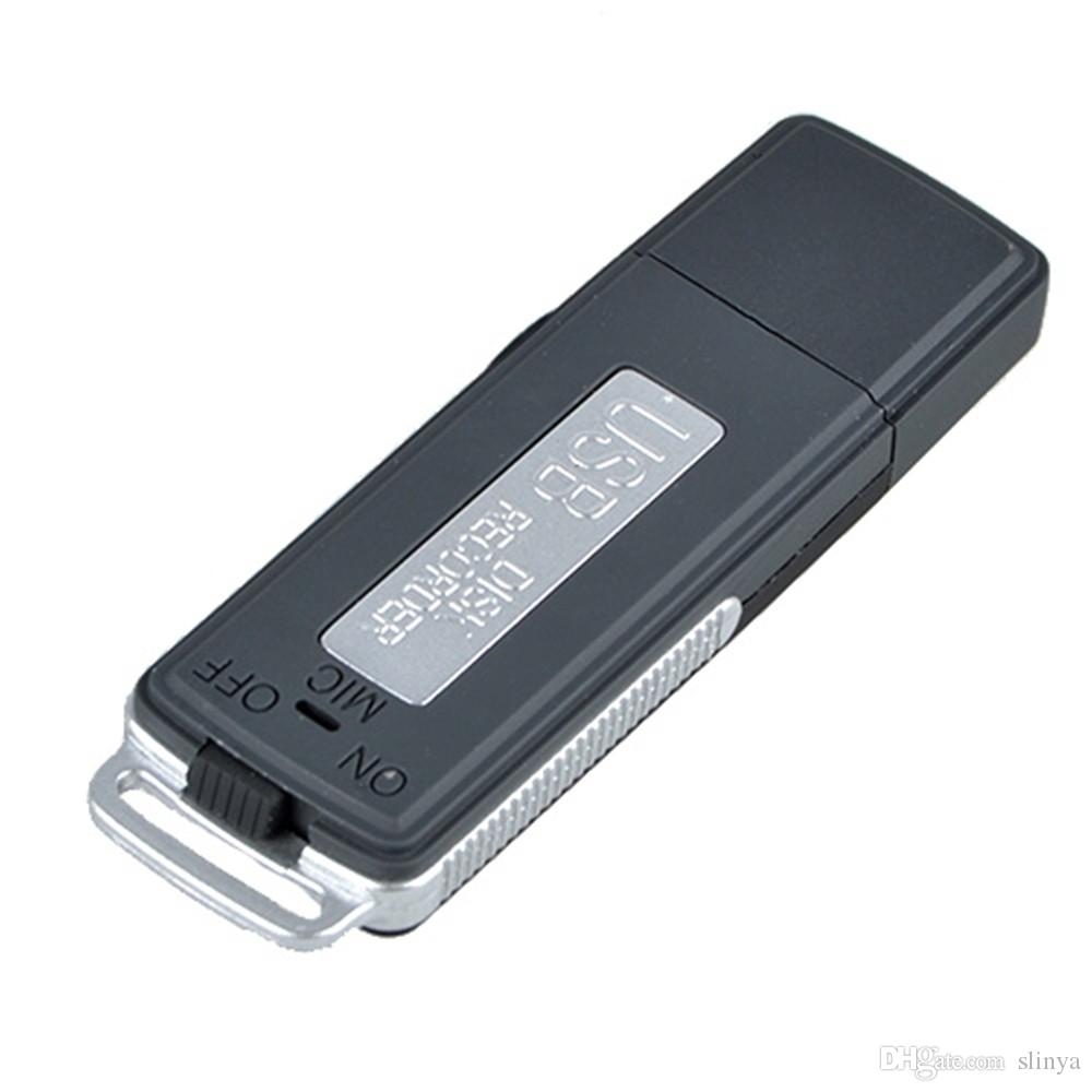 SK-868 4GB 8GB USB Flash Drive Mini registratore vocale digitale portatile USB Disk Audio Recorder