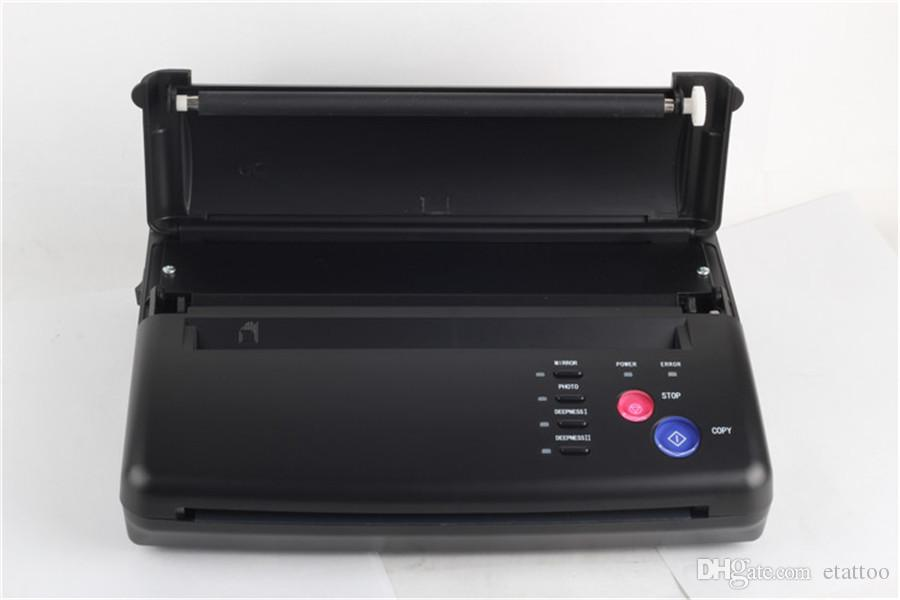 Tattoo Drawing Design Tattoo Thermal Stencil Maker Copier Tattoo Transfer Machine Printer Free Gift Transfer Paper