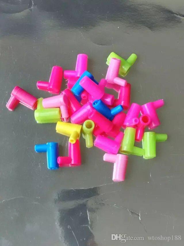 Plastik bağlantı parçaları bong aksesuarları, Cam Su Borusu Sigara Boruları Percolator Cam Bongları Yağ Yakıcı Su Boruları Petrol Boruları Sigara