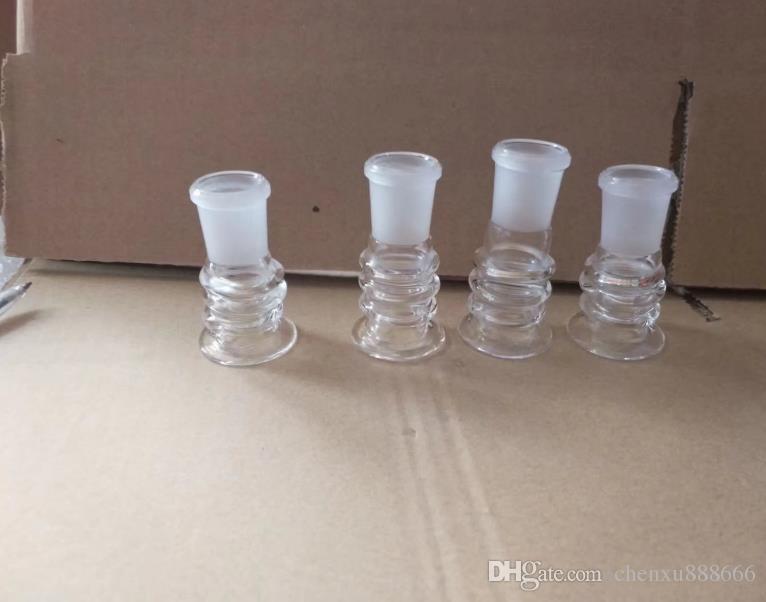 Accessori bong a vite, Bruciatore a olio unico Tubi di vetro Bong Tubi d'acqua Rigs di olio tubi di vetro Fumo con contagocce