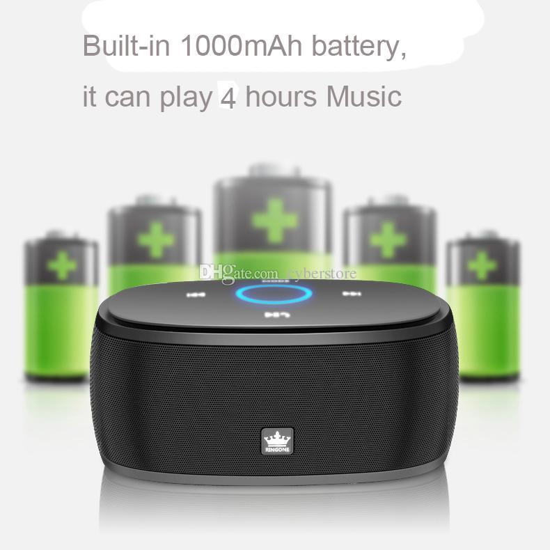 Ursprünglicher KINGONE drahtloser Bluetooth K5 beweglicher Minilautsprecher mit TF Karte MP3-Player-Musik für iphone 8 Handy-intelligentes Telefon Samsung-S8
