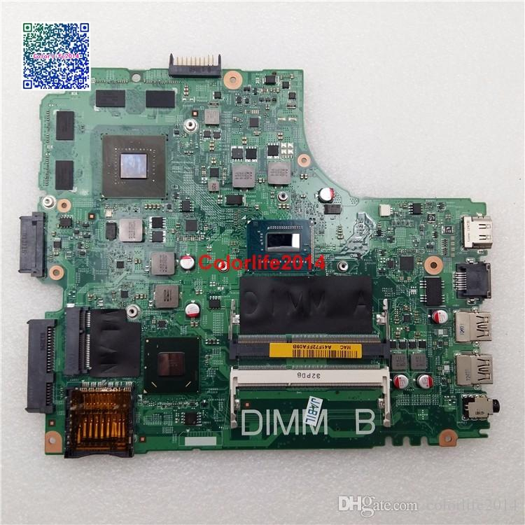 I7-3537U PN 4FF3M For Dell inspiron 3421 5421 Motherboard with Discrete Graphics Card N14P-GE-A2Fully tested & Working perfect