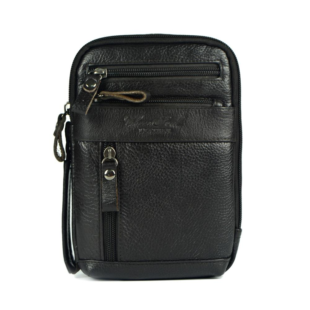 Wholesale-Genuine Leather Small Messenger Bags for Men Crossbody ... a888d360f213c