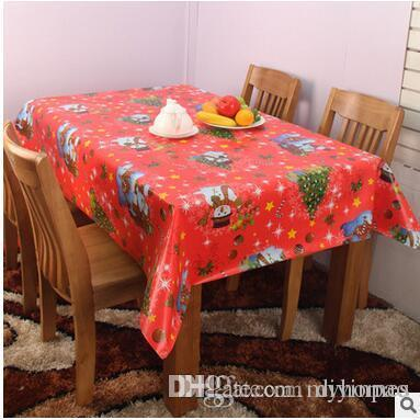 Pvc 120*140 Square Table Cloth Waterproof Table Cover Banquet Disposable  Chrismas Party Decoration Tables Home Textile Dining Table Covers Clear  Plastic ...